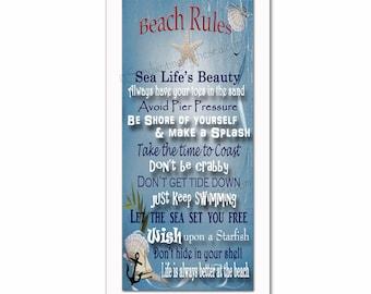 Family Beach Rules