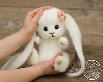 Bunny Anny (made to order),teddy bunny, bunny, the author's work.
