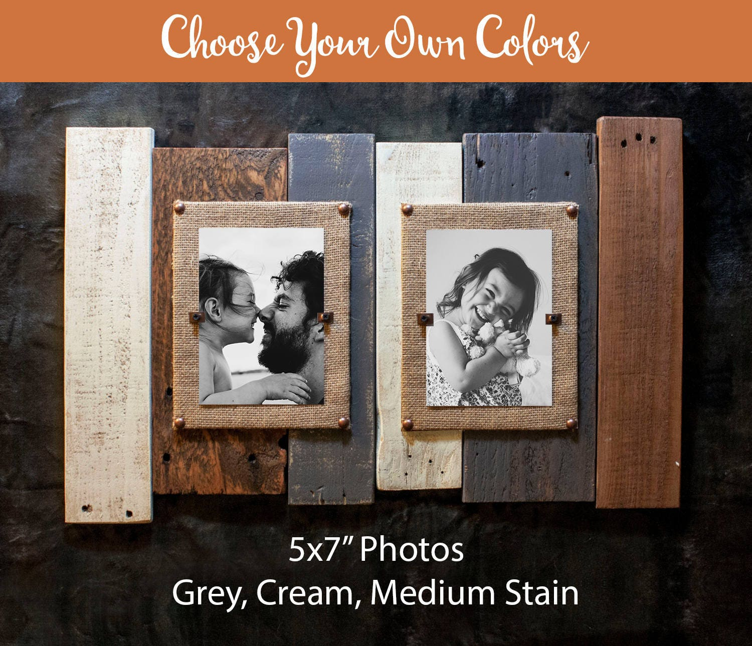 Double picture frame 5x7 4x6 8x10 custom double picture frame get shipping estimate jeuxipadfo Gallery