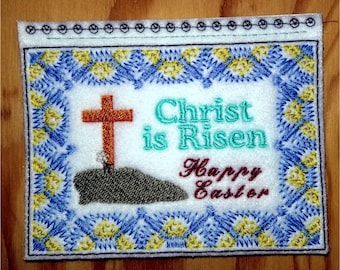 Embroidery Greeting Cards by DiElobi – Easter #2