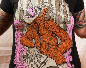 Monkey DJ - Womens
