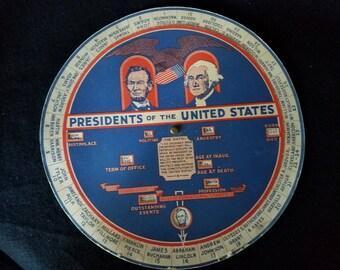 1931/US Presidents/Rossig Chart/School