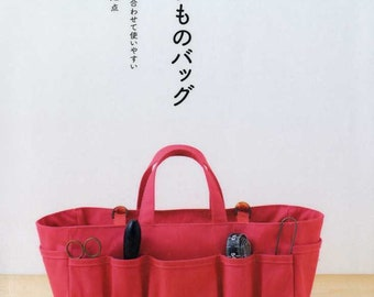 Nice and Useful Bags for Beginners - Japanese Pattern Book