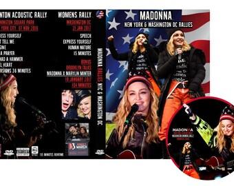 Rallies DVD New York - Washington - Marilyn Minter - Madonna