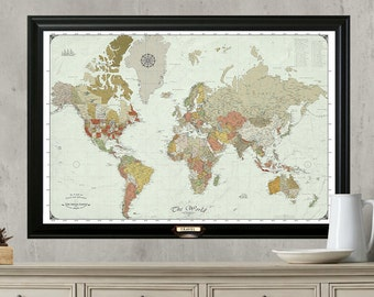 World travel map push pin travel mapamed or hanging travel world travel map push pin travel mapamed or hanging travel map with set gumiabroncs Gallery