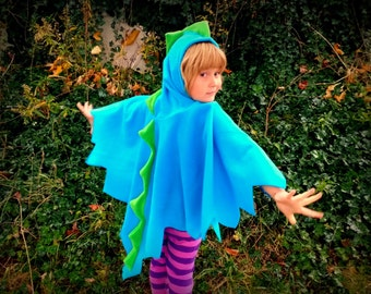 Dinosaur poncho for baby/toddler/ kids/ Adult your Custom Color choice