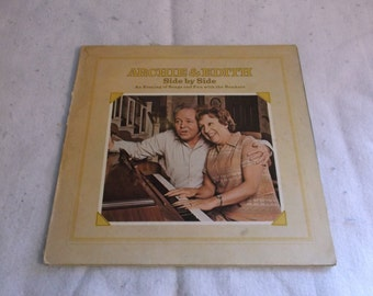 Archie & Edith Side by Side 1973 LP