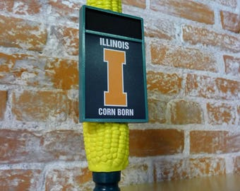 Illinois Corn Tap Handle with Chalkboard
