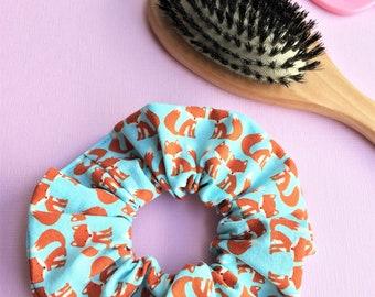 Fox Hair Accessory, Fox Hair Tie, Fox Scrunchie, Fox Accessories, Cute Scrunchie, Animal Hair Tie
