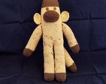 Brown Sock Monkey