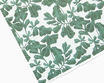 Botanical Leaf Wrapping Paper