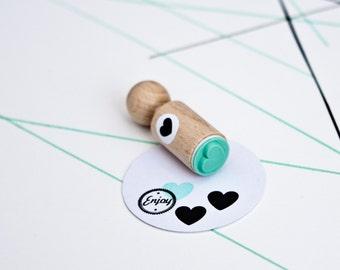 Heart Mini Stamp, heart ink stamp, heart rubber stamp, wedding stamp, love stamp, sweet stamps, stamp for her
