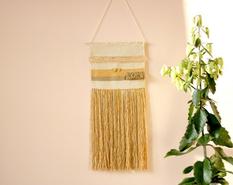Eco friendly tapestry wall hanging, Wall tapestry, Housewarming gift, Wall hanging, Textile wall art, Woven wall hanging, handwoven tapestry