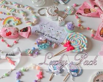 Lucky Pack, Kawaii, Sweet Lolita, Fairy Kei, Decora, Jewelry, Accessories, Japanese Fashion, Harajuku