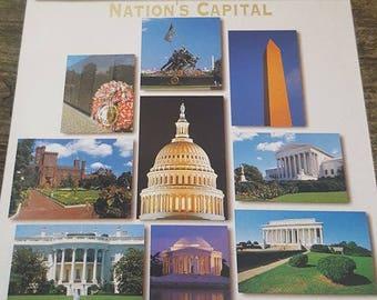 Washington DC Series of 12 Fine Print