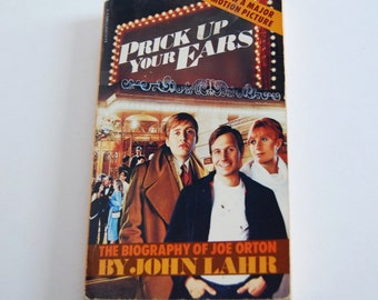 Vintage Book, Prick Up Your Ears