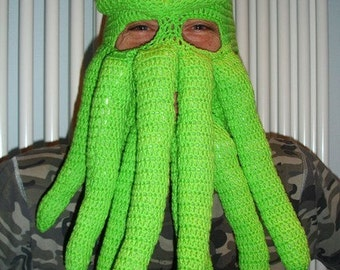 Custom Cthulhu inspired ski mask