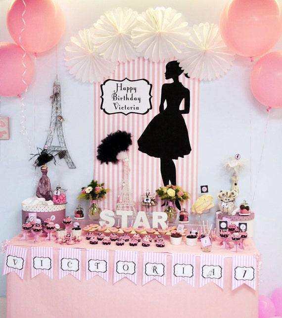 Fashion design birthday party 21