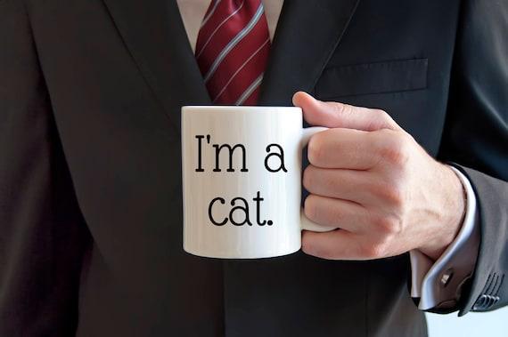 I'm a cat coffee mug