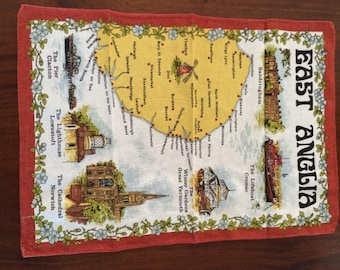 East Anglia - Cotton Tea Towel