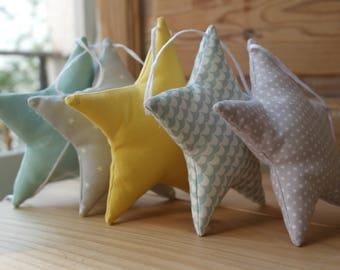 Garland of stars.