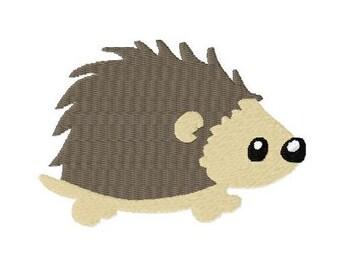Embroidery Design Hedgehog 4'x4' - DIGITAL DOWNLOAD PRODUCT