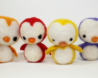 Made to Order Needle Felted Penguins