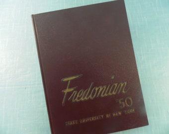 1950 SUNY Fredonia Yearbook - Fredonian