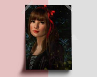 Violet Baudelaire - Digital Painting