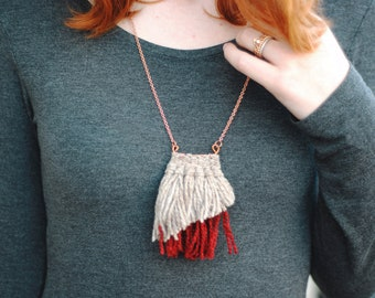 Cassidy Woven Necklace