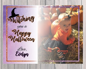 Happy Halloween Greeting - Witching You A Happy Halloween!