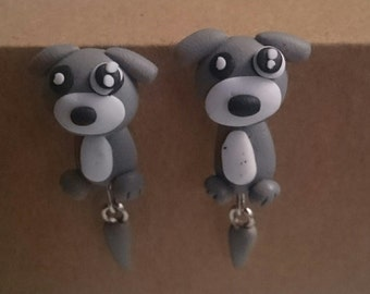 Dog small earrings