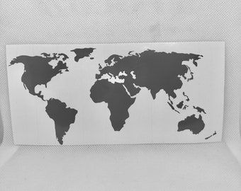 World map decal etsy gumiabroncs Images