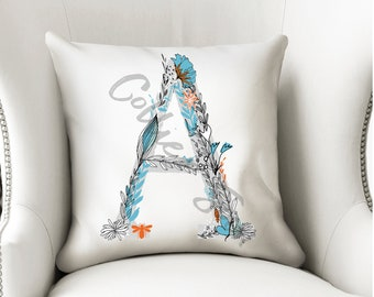 Alphabet Monograms,Number pillows
