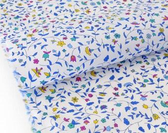 20% Tana Lawn 72x140cm Cathy blue Liberty fabric