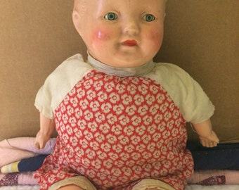 Vintage Depression Era Baby Doll, Original Authentic ,  Collectable Doll, with Reduced shipping