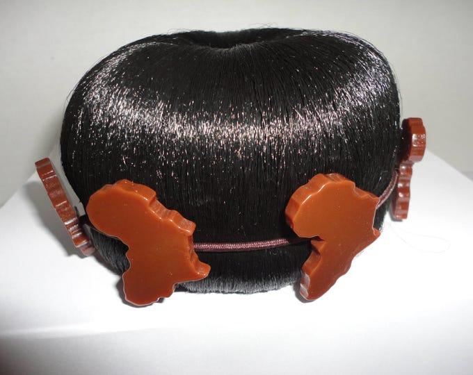 SALE ! 50% OFF Africa hair bun wrap