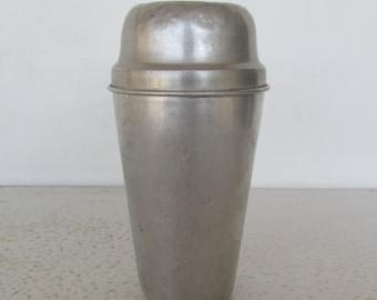 Ovaltine Embossed Shaker Vintage Aluminum Drink Mixer