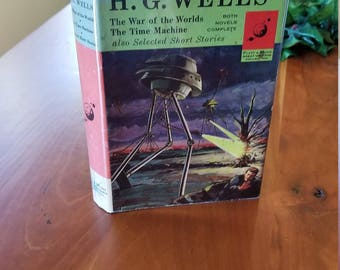 1963 H.G. Wells The War of The Worlds, The Time Machine