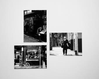 Melbourne B/W Postcard Set