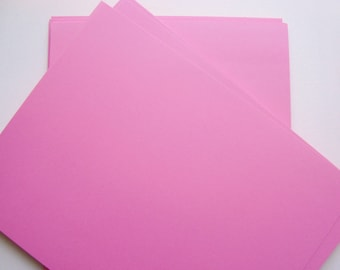Pink Card Stock Paper 8 x 11 | Scrapbook Paper | Invitation Cardstock | Paper for Invitations | Paper for crafts | Crafting Paper
