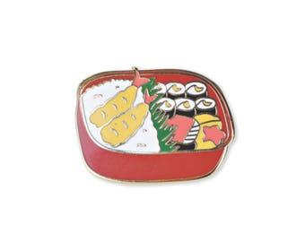 Bento Box Enamel Pin