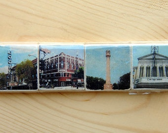 Logan Square Series - Set of 4 - Two inch Magnets