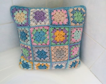 Hand Crochet  South Africa Cotton Cushion
