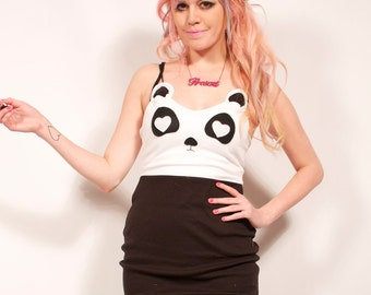 Panda Bear Dress MADE TO ORDER