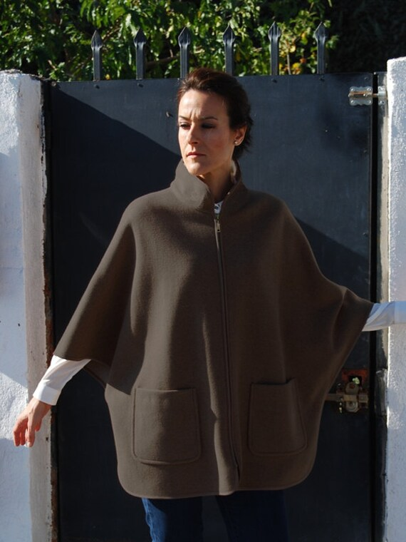 Cape coat, Pdf Sewing Pattern for Women. SEWING PATTERNS DESIGNS ...