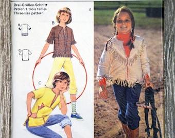 Pouch pattern Burda 17060 - child gown (Vintage)
