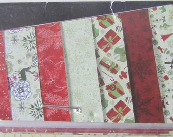 Set of 7 sheet of paper patterns - from C Top