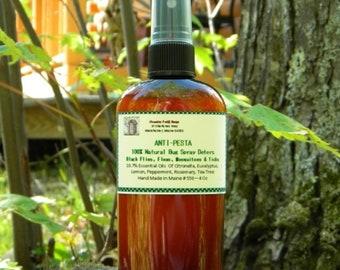Bug Spray ANTI PESTA All Natural Bug Repellant  2 oz or 4 oz, Natural Bug Spray, Deet Free Bug Spray
