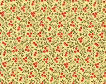 Anns Arbor Buttercup 14844 16 - Moda Fabrics 100% Cotton Quilting Fabric by Minick and Simpson